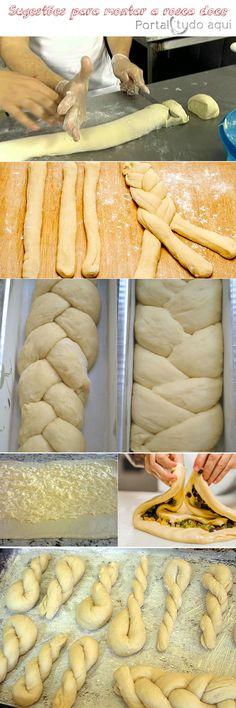 receita de rosca doce com leite condensado na massa-montagem-sugestoes