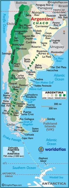 In a little over 2.5 months, I'll be in Córdoba, Argentina!