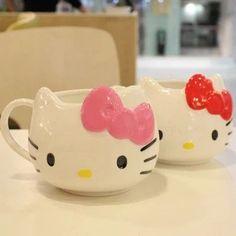 Zakka Cute Hello Kitty Ceramic Mug Coffee Cup