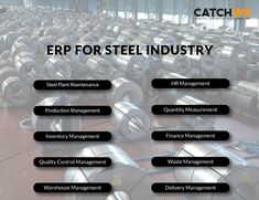Steel industry has a pivotal role in contributing to our Countries economy. Hence, we introduce a solution, ERP that conserve steel and support your company's business goals and practices. Inventory Management, Weight Management, Warehouse Management, Marketing Process, Business Goals, Countries, Finance, Industrial, The Unit