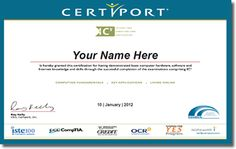 IC3 Certification