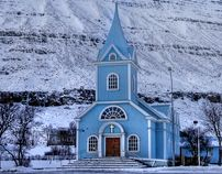 """Check out this @Behance project: """"Iceland - Seydisfiordur City"""" https://www.behance.net/gallery/351697/Iceland-Seydisfiordur-City"""