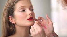 The Monday Makeover: The Bold Lip via @Vogue Magazine
