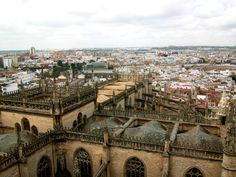 Sevilla, Spain. I want to live here so badly someday!