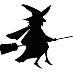 Witch silhouette PNG and Clipart Halloween Designs, Retro Halloween, Casa Halloween, Halloween Trees, Halloween Festival, Halloween Pictures, Holidays Halloween, Halloween Crafts, Halloween Decorations