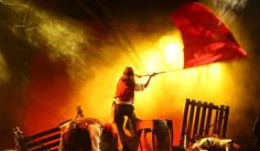 red flag les miserables - Google Search Running Gif, Projection Mapping, Red Flag, Socialism, Choir, Cover Photos, Orchestra, Music Videos, Musicals