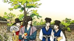 Hime no Sarange: All about Korean Drama: Sungkyunkwan Scandal Fan Cartoon Pics 2