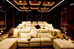 ♥ the seating, big comfy couch like seating. For when the storage room is finally cleaned out. This!