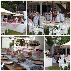 Villa Maria Guest Lodge babyshower in pink
