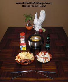 Cheese Fondue Recipe -perfect for girls night AND wine! Fondue Recipes, Appetizer Recipes, Fondue Ideas, Appetizers, Appetizer Ideas, Fun Recipes, Recipe Ideas, Good Food, Yummy Food