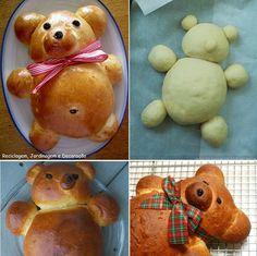 Pan dulce de oso