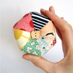 Apple Button Pincushion Mix n Match by ChiChiDee on Etsy, £8.00