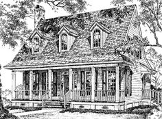 Creole Cottage   William H. Phillips | Southern Living House Plans: Great  Plan To