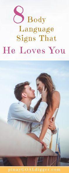 body language dating book