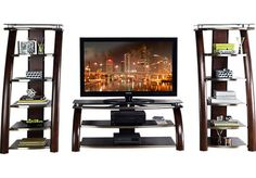 Shop for a Grant City 3 Pc Wall Unit at Rooms To Go. Find Wall Units that will look great in your home and complement the rest of your furniture.