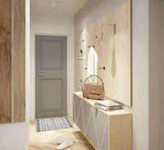Idei de amenajari pentru holuri mici de apartamente- Inspiratie in amenajarea casei - www.povesteacasei.ro