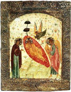 Православная иконография Иисуса Христа. Спас Недреманное Око (Христос Анапесон) XVI в.