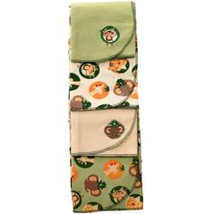 Jungle Babies - 4pk Receiving Blankets