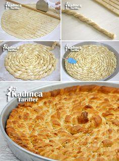 Tahinli Burma Çörek Tarifi