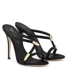 Aleesha - Sandals - Black   Giuseppe Zanotti ®