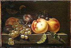 Pierre LIEGEOIS - Pêches, prunes et raisins - Louvre