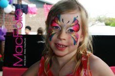 maquillage pour enfant - maquillage de fantaisie ( artistique ) / papillon