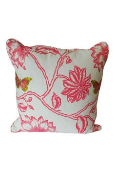 """17""""×17""""   Flower Pillow by The Birch Tree Furniture. Home & Gifts - Home Decor - Pillows & Throws Ohio"""