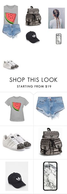 """""""Untitled #236"""" by timcaaa on Polyvore featuring One Teaspoon, adidas Originals, NLY Accessories and adidas"""
