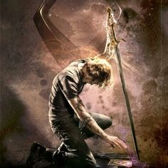 Jace and the Mortal Cup. One of Cassandra Clare's twitter account image.