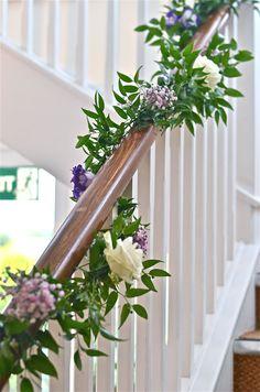Wedding Flowers Blog: Colours Buttermilk and purple