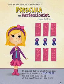 Priscilla & the Perfect Storm A social skills book that helps children identify and deal with anxiety based on perfectionism