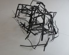 """""""Collapsed"""". Metal Strips"""