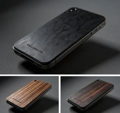 Some nice wood panel backing for iPhone by Killspencer
