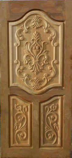 Wooden Front Door Design, Main Entrance Door Design, Wooden Front Doors, Latest Door Designs, Pooja Room Door Design, Room Partition Designs, Wood Carving Designs, Furniture, Peacock Pictures