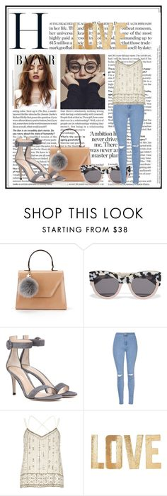 """""""Untitled #524"""" by haya-kamel1 ❤ liked on Polyvore featuring STELLA McCARTNEY, Gianvito Rossi, Glamorous, River Island and PBteen"""