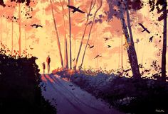 Early weekend. by PascalCampion.deviantart.com on @DeviantArt
