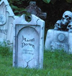 adding depth and dimension to foam tombstones (easy) - Page 2