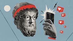 ancient gods explores new technology Collage Illustration, Graphic Design Illustration, Digital Illustration, Technology Posters, New Technology, Technology Gadgets, Technology Design, Energy Technology, Futuristic Technology