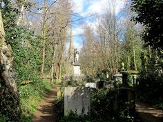 Abney Park Cemetery | London, England | via Blog: Musings of a Curious Individual