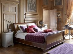 Grange Furniture from France. Louis Philippe Fascination. ( I don't get placing furniture in front of fireplaces.)
