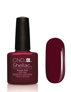 cnd shellac rouge rite color pic - Google Search