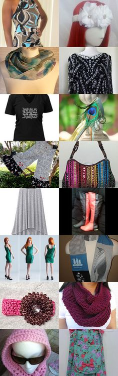 Fashion from head to toe -LGC Team by Deb Wise on Etsy--Pinned with TreasuryPin.com
