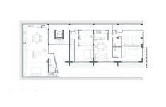 Image 20 of 21 from gallery of Zempoala 267 Building / GDE Grupo Diseño y Espacios. Third Floor Plan