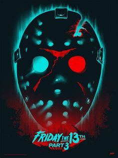 Jason Voorhees-Friday The Part Horror Icons, Horror Movie Posters, Movie Poster Art, Jason Voorhees, Horror Movie Characters, Horror Movies, Slasher Movies, Horror Villains, Arte Horror