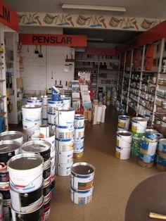 Abandoned Paint Shop, Sweden - June 2010 & February 2014