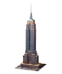 Empire State Building 3-D Puzzle by Ravensburger #zulily #zulilyfinds  Atticus would love this!