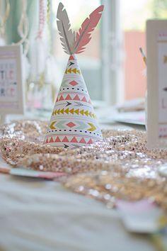 Tribal Princess Birthday Party via Kara's Party Ideas | KarasPartyIdeas.com (42)