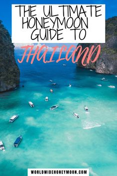 The Ultimate Thailand Honeymoon Guide Plus the Perfect Thailand Honeymoon Itinerary - World Wide Honeymoon Thailand Vacation, Thailand Honeymoon, Thailand Travel Guide, Visit Thailand, Asia Travel, Bangkok Thailand, Croatia Travel, Hawaii Travel, Italy Travel
