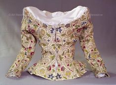 , 16th century CE, Elizabethan period (1553-1603), Embroidery, Jacket, Renaissance