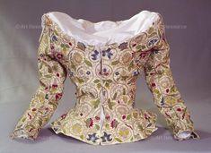 , 16th century CE, Elizabethan period (1553-1603), Embroidery, Jacket, Renaissance